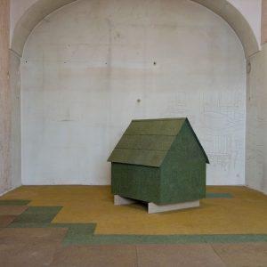 Spurensuche #4 – Tapetenfragmente in der Dauerausstellung 🛋 2008 waren die damals nicht genutzten Räumlichkeiten der ehemaligen...
