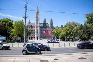 👉 @interspar am Rathaus! Schottentor ist gleich um´s Eck - somit eine gelungene Platzierung der Kampagne 🙂...