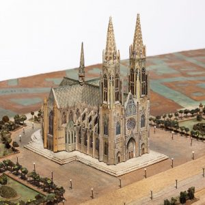 Mein Stück Wien: Das erste Teilstück des Wiener Stadtmodells ist fertig restauriert. Der Bereich rund um die...