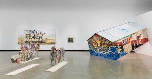 Repost• @kunsthallewien documentation by @kunstdokumentationcom ☀️Escape the heat and visit us at Kunsthalle Wien Museumsquartier: