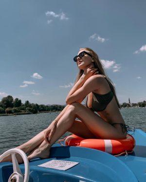 Літо відкрили на Дунаю 👌 Кажуть річковий загар тримається краще, перевіримо 😏 . . . #donaukanal #donau...