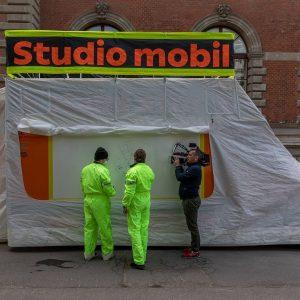 Weiter geht's! Die studio mobil / think tank station macht ihre nächste Station am 25.–27. Juni am...