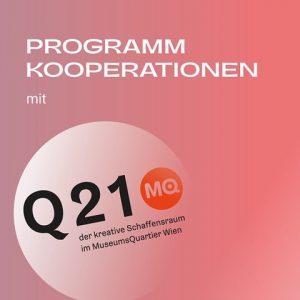 An [3] weiteren Abenden im @mqwien Wien machen wir gemeinsame Sache mit unseren Partner_innen: dem @q21_vienna ,...