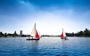#vienna #summerdays #sunnysideup #altedonau #altedonauwien Alte Donau