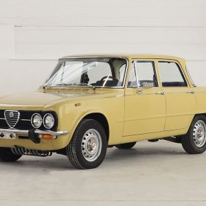 1976 Alfa Romeo Giulia Nuova Super 1300 A #racing car for every family status - that was...