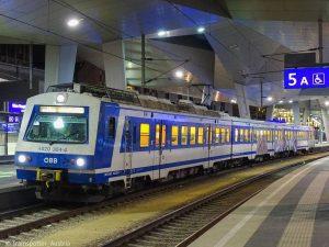 Eine Seltenheit geworden sind mittlerweile die Einsätze der 4020er auf der innerstädtischen Schnellbahnlinie S80, die Aspern im...