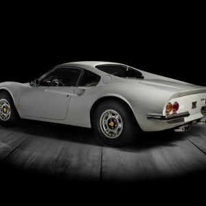 1971 Dino 246 GT In 1971, a young man from Graz signed a purchase contract for a...