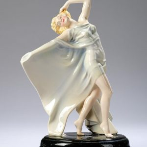 Dancing Stars. A whole series of dancing figures can be discovered at our auction Jugendstil and 20th...