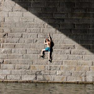 Escaping Danube river #Vienna #Donau #Wien Donauinsel