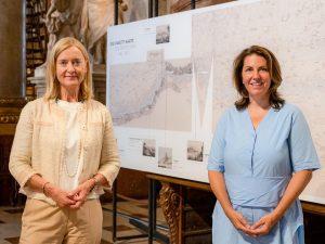 """Nationalparkdirektorin Edith Klauser besuchte in Begleitung von Generaldirektorin Johanna Rachinger die aktuelle Sonderausstellung """"Donau. Eine Reise in..."""
