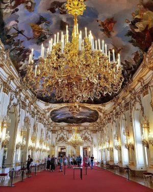 Inside the magnificent Schloss Schönbrunn. ✨ by @iordan_costel_54 #ViennaWaitsForYou Vienna