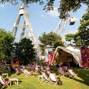 Der @kultursommerwien bespielt vom 8. Juli - 15. August unsere Kaiserwiese! 🌞☺️🎶 Viele ...
