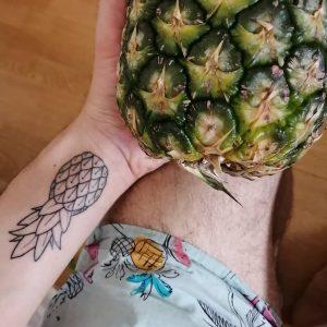 Ja, ich mag Ananas