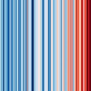 Warming Stripes für Wien, 1775–2020   #ShowYourStripes  💦 Diese von dem Klimaforscher Ed Hawkins (@climatehawkins) auf...