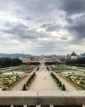 Vienna • Belvedere Garden View (July 2021) _________ #vienna #wien #belvedere #gardenview #garden ...