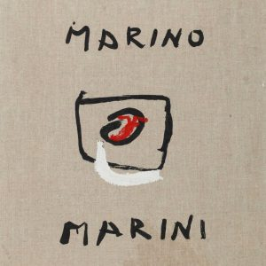 Portfolio of 63 prints after works by Marino Marini, published in 1968. The ...