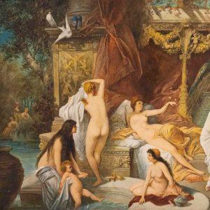 'The Summer (The Roman Bath)', imitator of Hans Makart. #HansMakart was an Austrian ...