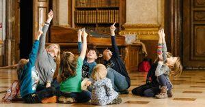 Etwas für die Kleinen: Diesen Samstag, 24. Juli, um 10:30 findet eine kostenlose Online-Führung für Kinder statt....