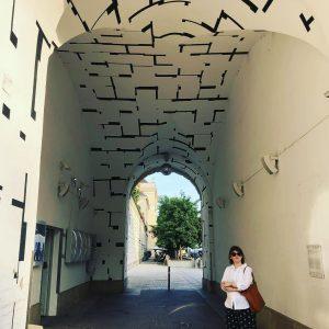 Tonspur Passage to wyjątkowe miejsce na artystycznej mapie Wiednia: mikro-muzeum w pasażu w ...
