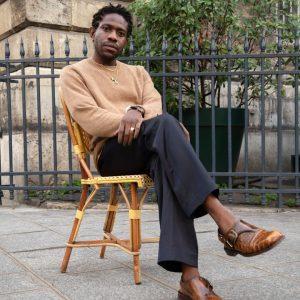 Nigerian-born Austrian @kennethize made a meteoric international rise. Photo: Julian Poropatich #Kenneth mixes ...
