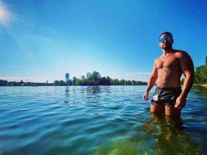 Endless summer #altedonau #vienna Alte Donau