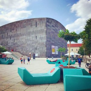 a great place to discover modern art is the MUMOK in Vienna's Museumsquartier ...