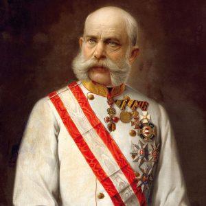 🎉 Heute vor 191 Jahren wurde Kaiser Franz Joseph I. 👑 in Schloss ...