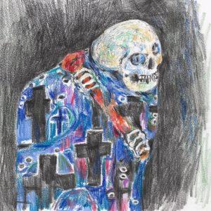 Confesso che ho vissuto #illustration #illustrazione #morteevita #gustavklimt #morteevitaklimt #klimt #gustavklimtart #kunst #secession #secessioneviennese #wienersecession #vienna #wien...