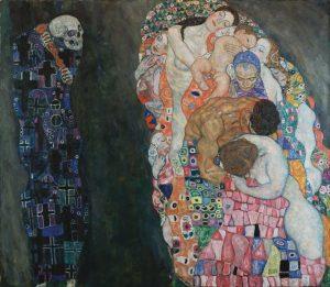 Gustav Klimt, Morte e vita (1908-'15) Gustav Klimt, Death and Life (1908-'15) . . . . ....
