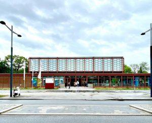 21er Haus, formerly Austrian pavilion at the Expo 58 in Brussels, Schweizergarten, Arsenalgasse, ...