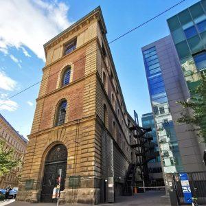Das ehemalige k. k. Hoftheater-Kulissendepot, später bekannt unter 'Semper-Depot', nach erfolgter Revitalisierung in ...