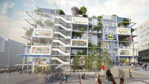 IKEA Wien Westbahnhof Architektur: querkraft architekten ZT GmbH Landschaftsplanung: Kräftner Landschaftsarchitektur Bauphysik: Ingenieurbüro P.Jung Haustechnik: rhm GmbH...