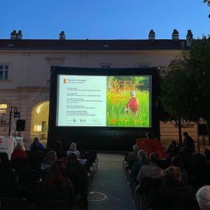 Architektur.Film.Sommer Vienna's open air #architecture #film festival by @architekturzentrum_wien @wonderland_platform at @mqwien Az ...
