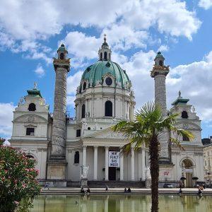 25.08.21 | Karlskirche, Wien. #travel #vienna Wiener Karlskirche