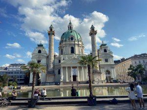 Bis später, Österreich! 🤍🇦🇹 Wiener Karlskirche