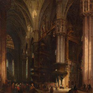Luigi Bisi. Luigi Bisi (1814-1886) was an Italian painter and architect. This artwork ...