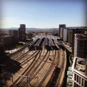 Wien Hauptbahnhof. 🚅 #vienna #viena #wien #austria #oesterreich #europe #europa #city #cities #random ...