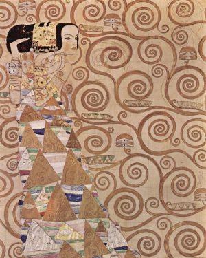 Expectation by Gustav Klimt #gustavklimt #klimt #egonschiele #schiele #arthistory #modernism #paintings #painting #oilpainting #artoftheday #vangogh #impressionism #monet...