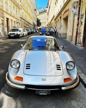 What a classic. Little Dino by Ferrari. V6 Naschmarkt