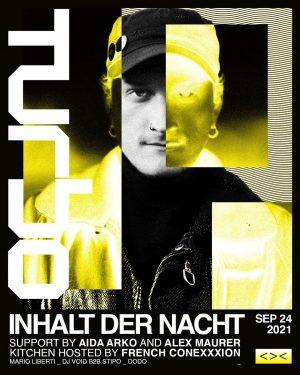 Welcome @inhaltdernacht ☠️ Ticket Link In Bio. —— #grelleforelle #inhaltdernacht #turbo #wien #berlin #lebendig #techno < Grelle...