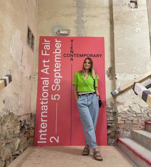 Про ярмарку искусств в Вене ⠀ Я далеко ещё не эксперт, который может ...