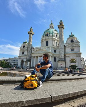 Back at it! ✈️ Wiener Karlskirche