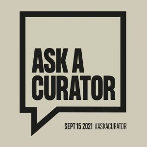 #AskACurator day is coming up soon! 🙌 The #AskACurator Day is taking place for the eleventh time...