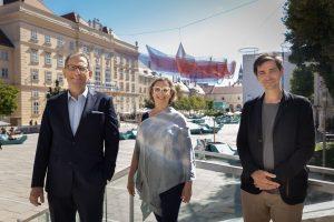 Wir feiern 20 Jahre MuseumsQuartier Wien und die Verbundenheit zwischen uns allen. Im ...