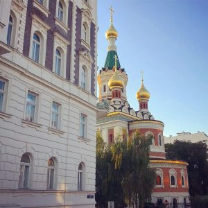 Vienna offers many stunning Catholic Churches, but also hidden gems of other confessions: like this Russian-orthodox church...