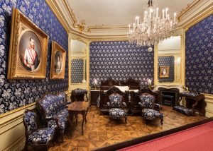 Sisi and Franzl – the dream couple of Habsburg history 👸🤴. This room ...