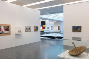 """Curator Luisa Ziaja says: """"Based on the museum's holdings from the twentieth and ..."""
