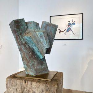 JOSEF PILLHOFER ⭐️Skulpturen und Zeichnungen ⠀⠀⠀⠀⠀⠀⠀⠀⠀ 👼Erzengel 1970 Bronze H 45 cm ⠀⠀⠀⠀⠀⠀⠀⠀⠀ ...