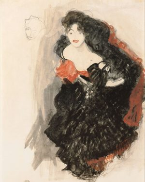 In Klimt's oeuvre, graphic works were typically intended as preliminary sketches, and they ...