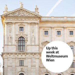 Here's what you should not miss this week at #WeltmuseumWien 🙌 ✍️ Drawing in the Museum Workshop...